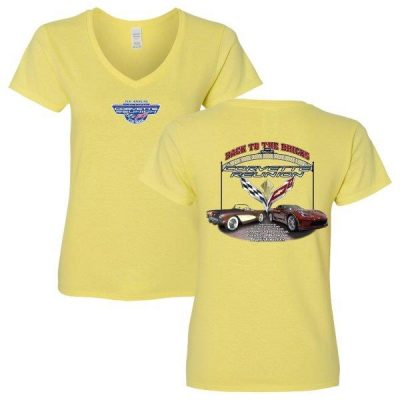 7th annual Flint Corvette Reunion Gildan 5V00L Cornsilk